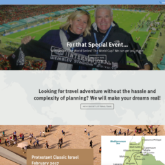 Bucket List Travel Tours Website